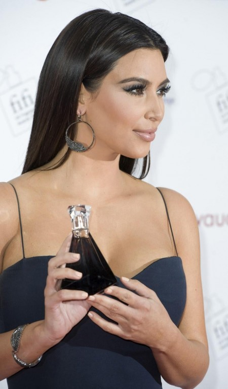 Kim Kardashian Fifi Uk Fragrance Awards In London Awards