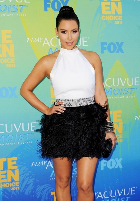 Kim Kardashian Teen Choice Red Carpet Red Carpet