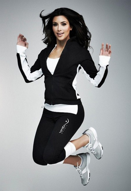 Kim Kardashian Workout Body