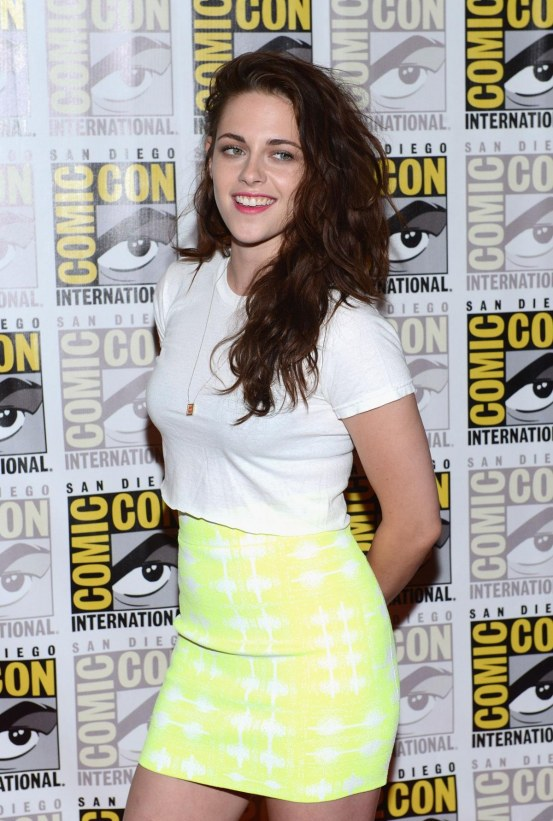 Kristen Stewart At Breaking Dawn Part Vip Comic Con Celebration In San Diego Breaking Dawn Part