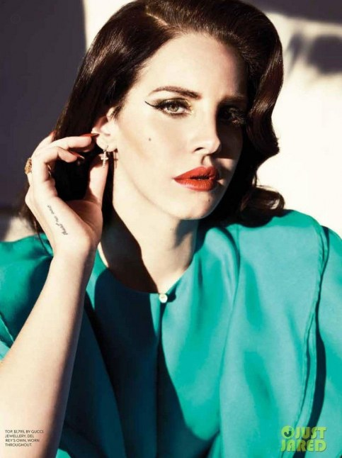 Lana Del Rey Covers Fashion Magazine Summer Fashion