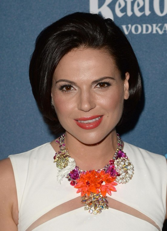 Lana Parrilla At Th Annual Glaad Media Awards In Los Angeles