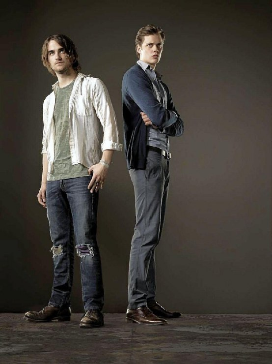 Landon Liboiron And Bill Skarsgard Original