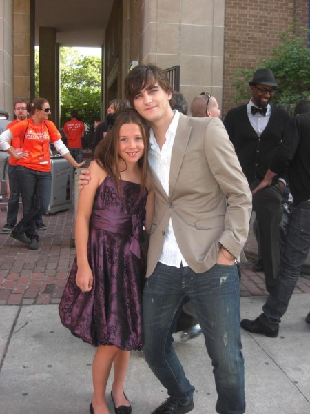 Natasha And Landon Liboiron At Tiff Large Picture