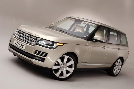 Range Rover Angle Front