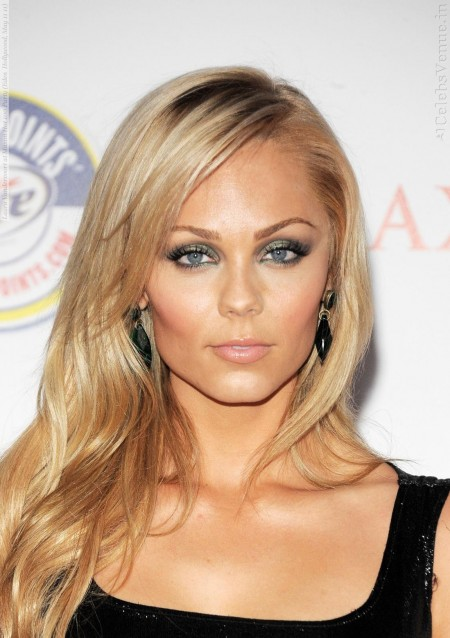 Laura Vandervoort At Maxim Hot Party Eden Hollywood May Damage