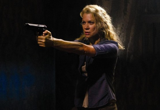 The Walking Dead Movies Actor Laurie Holden Wallpaper