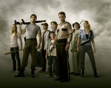 The Walking Dead Tv Series Laurie Holden Publicity Zombie Apocalypse Twd Steven Yeun Chandler Riggs Tv