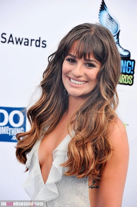 Lea Michele And Cory Monteith Are Blue Carpet Couple Hot