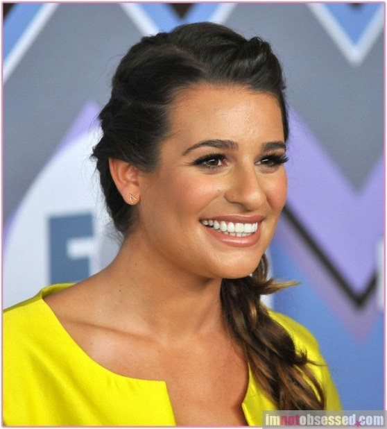 Lea Michele At Fox All Star Party Tca