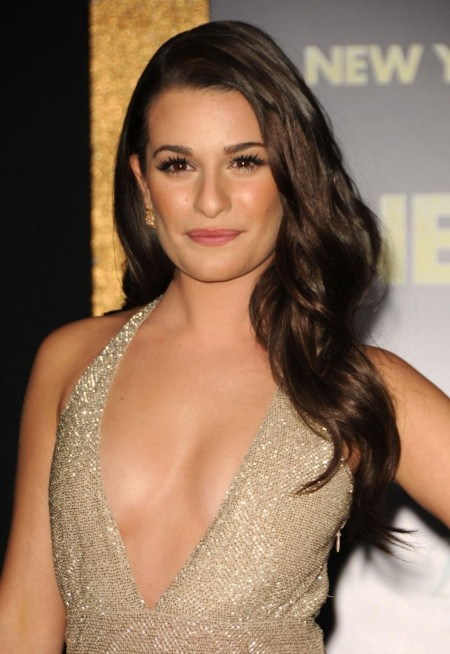 Lea Michele At New Years Eve Premiere In Los Amgeles