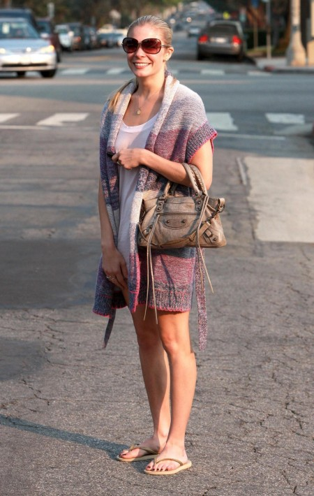 Leann Rimes Candids In Brentwood August