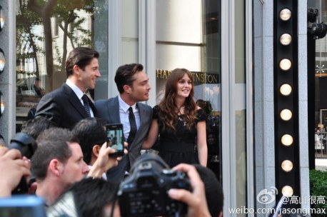 Ed Westwick Leighton Meester Harry Winston Ed And Leighton And Ed Westwick