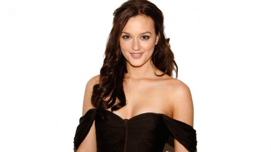 Leighton Meester Black Dress Black Dress