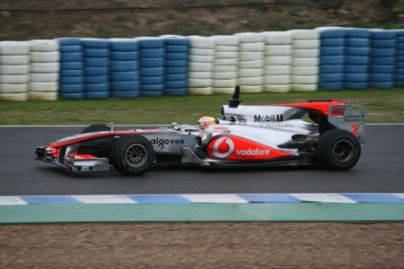 Lewis Hamilton Tests Mclaren Mp At Jerez Mclaren
