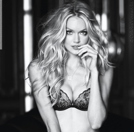Lindsay Ellingson For Victorias Secret Gorgeous Beauty Ad Campaign Fall Hair