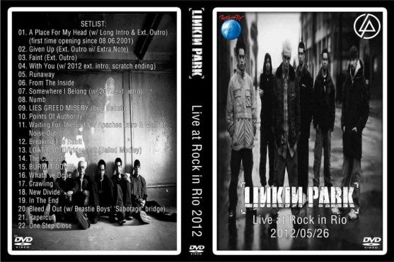 Dvd Cover Linkin Park Live At Rock In Rio Lisbon