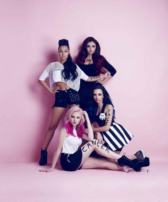 Ec Ec Bc Ee Race For Life Message To Cancer Little Mix By Jason Bell
