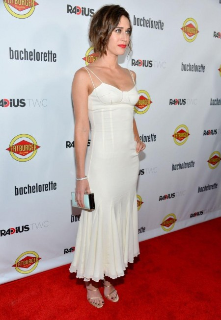 Lizzy Caplan Bachelorette Premiere In Hollywood