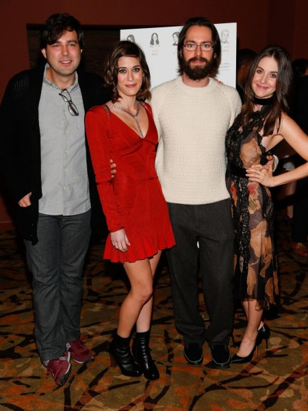 Lizzy Caplan Martin Starr Alison Brie And Michael Mohan At Event Of Save The Date