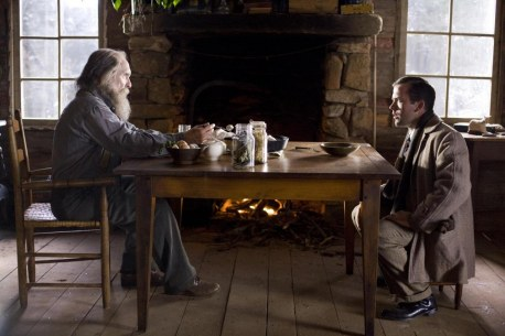 Still Of Robert Duvall And Lucas Black In Get Low