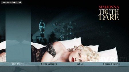 Madonna Truth Or Dare Blu Ray Menu