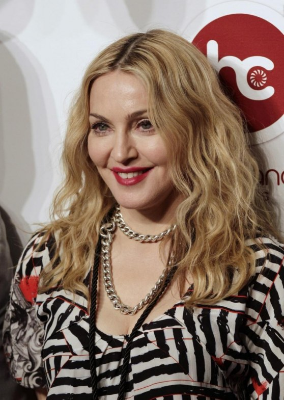 Singer Madonna Arrives To Open Hard Candy Fitness Gym In Mexico Ci Old