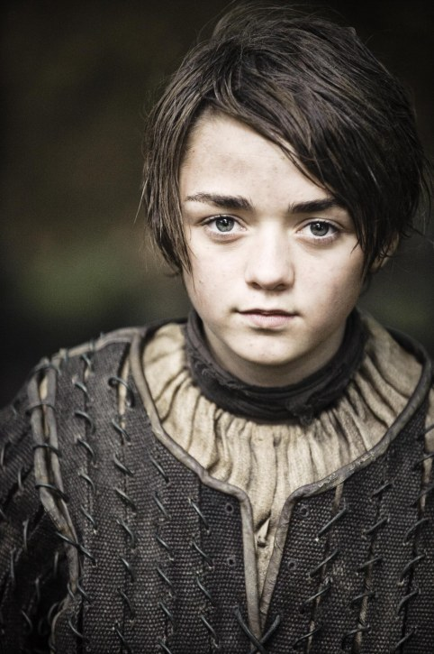Arya Stark Maisie Williams Helen Sloan