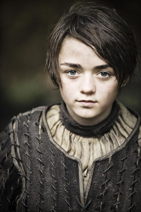 Maisie Williams In Game Of Thrones Episode The Night Lands