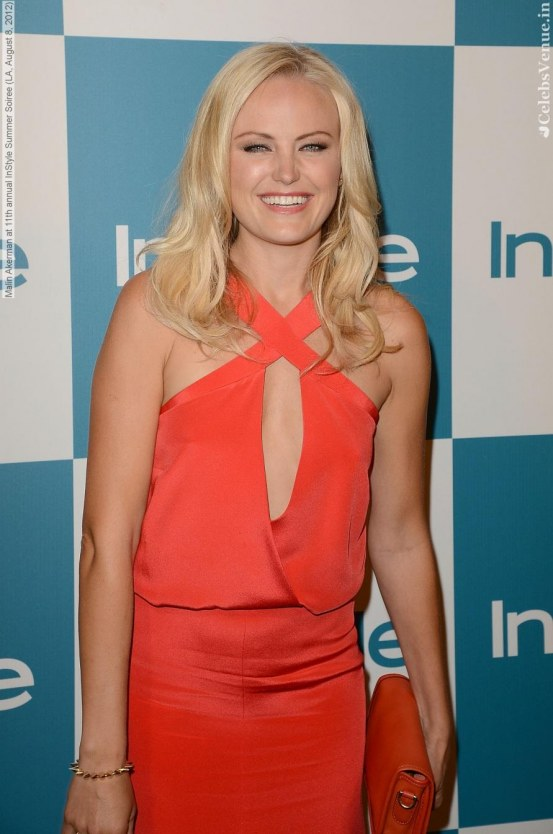 Malin Akerman At Th Annual Instyle Summer Soiree La August