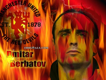 Dmitar Berbatov Manchester United Wallpaper