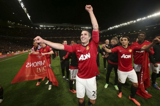 Manchaster United Celebration
