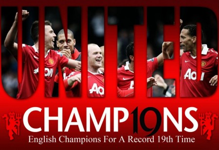 Manchester United Champions Premiere League Wallpaper