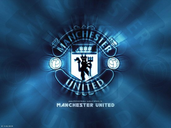 Manchester United Fc Light Wallpaper Logo