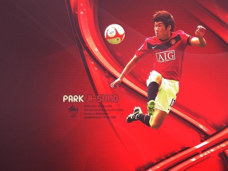Park Ji Sung Manchester United Wallpaper