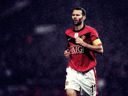 Ryan Giggs Manchester United Wallpaper Wallpaper