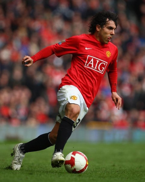Carlos Tevez Manchester United Liverpool Xiifnwrizx