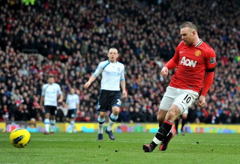 Manchester United Vs Liverpool Epl Feb Rooney Nd Goal