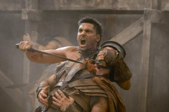 Picture Of Manu Bennett In Spartacus Blood And Sand Large Picture