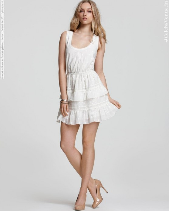 Marcelina Sowa For Bloomingdales Collection Fall Winter Photo Shoot
