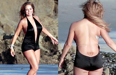 Fashion Beauty Hot Tattoos Mariah Carey Fashion