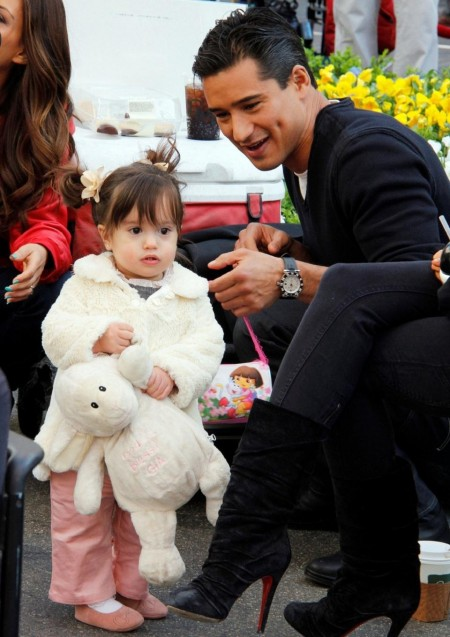 Mario Lopez Family Surprise At The Grove