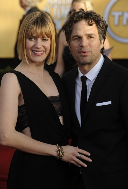 Mark Ruffalo Wife Sunrise Coigney Arrive At Th Annual Screen Actors Guild Awards Los Angeles Wife