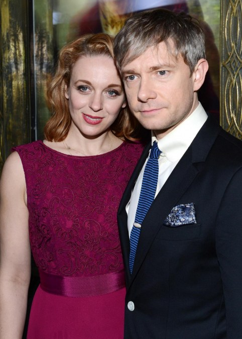 Amanda Abbington And Martin Freeman In Hobbitul Calatorie Neasteptata Large Picture And Amanda Abbington