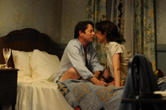 Still Of Mathieu Amalric And Gina Mckee In Jimmy