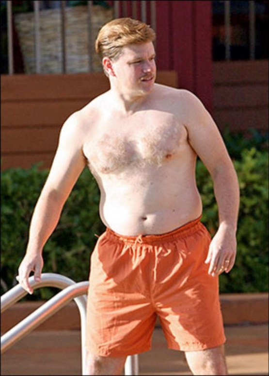 Fat Matt Damon Fashion