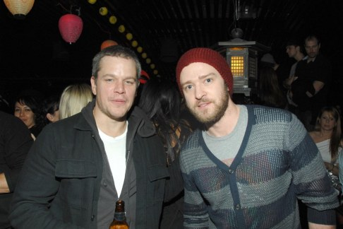 Matt Damon And Jt Fashion