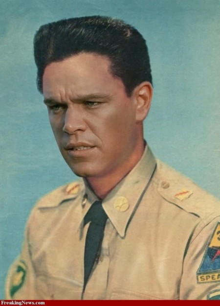 Matt Damon Elvis Presley