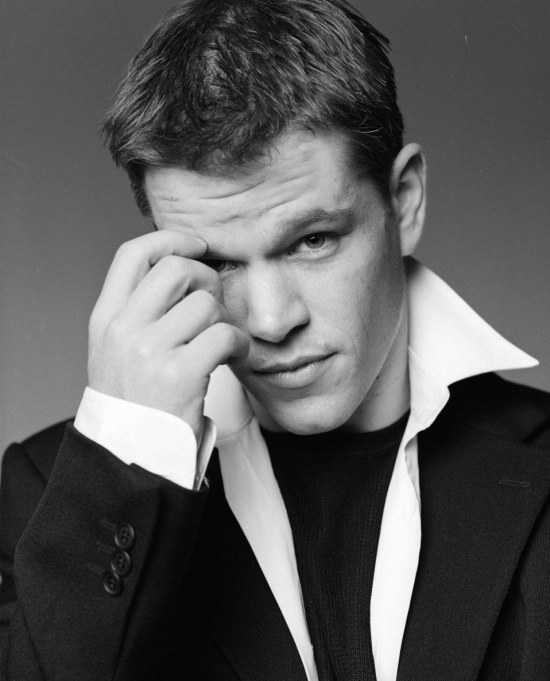 Matt Photoshoot Matt Damon Hot