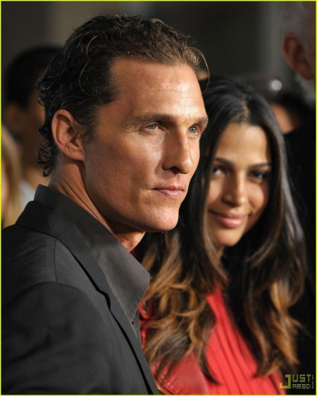 Matthew Mcconaughey Camila Alves One Peace Hair